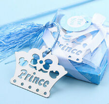 FD3383 Prince Crown Creative Exquisite Alloy Bookmarks With Ribbon Box Gift