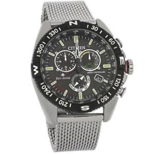 Citizen CB5840-59E Mens Promaster Navihawk A-T Chronograph Eco-Drive Watch