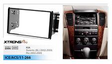 XTRONS 2 Din Car Radio Facia Panel Fascia Dash Surround For KIA Sorento Rio