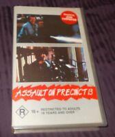 ASSAULT ON PRECINCT 13 VHS PAL FORCE VIDEO JOHN CARPENTER