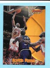 1997-98 Bowmans Best #1 Scottie Pippen refractor Bulls
