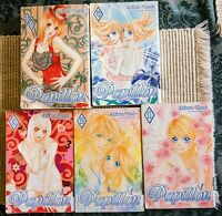 Papillon vol. 1-6 by Miwa Ueda Manga Graphic Novel in English (good/fair Cond.)