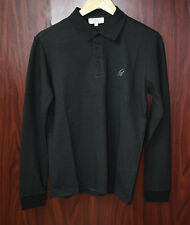 New Brioni Mens Polo t-shirt long sleeve size S