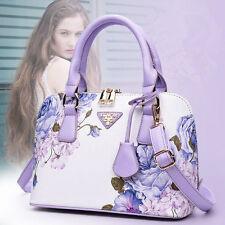 Printing Ladies Fashion Bag Tote Designer Leather Shell Style Shoulder Handbags