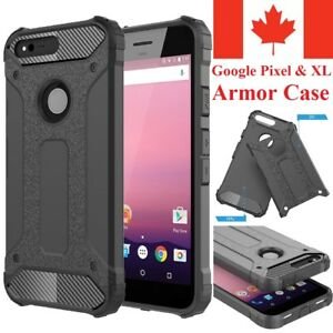 For Google Pixel / XL Case - Dual Layer Hybrid Shockproof Armor Cover