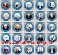 Capsules de champagne Générique Série Président FRANCAIS CONTOUR BLEU