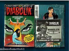 DIABOLIK 6 anno XLIV (n. 700) - Blisterato con GADGET - MANKOLISTA