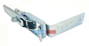 Trailer Tail Gate Padlockable Overcentre Catch / Latch and Plate Heavy Duty