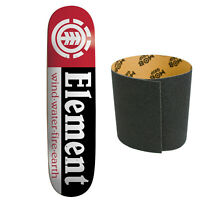 ELEMENT Skateboards SECTION DECK skateboard 7.75 with MOB GRIPTAPE
