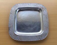 "Rare RWP WILTON ARMETALE 12"" Square POLKA Dots Baking Dish Tray Serving Platter"