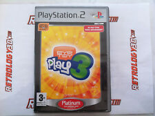 EyeToy Play 3 - Platinum > Playstation 2 (PS2) > En Boite > PAL FR