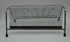 Wire Chrome Vinyl Single Record Holder Rack - Hold 50 Singles