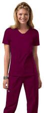 Cherokee Women's New Stylish Short Sleeve Patch Pockets V Neck Scrub Top. 24703