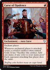 CURSE OF OPULENCE Commander 2017 MTG Red Enchantment — Aura Curse Unc