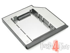 Zweiter HD-Caddy Festplattenrahmen 2nd HDD SSD HP EliteBook 8540w 8730w 8740w