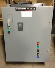 SQUARE D 8639 48UDG2N 3 PHASE 208 VOLT 10HP SOFT START NEMA 1 / ISO CONTACTOR