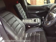 FORD TRANSIT CONNECT 2014 /15 VAN SEAT COVERS  TAILORED  BLACK A120BK