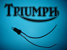 Triumph T140 Veglia Speedo Tacho Éclairage Douille Ampoule Phares / Feux