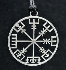Viking Compass Pendant Necklace Symbol of Norse Runic Necklaces Fashion Jewelry