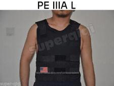 New PE Bullet Proof Vest/Jacket Body Armor NIJ Level IIIA 3A 38 Layers L