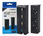 Dobe PS4 Slim External Intellegnce Cooling Fan  4 Port USB Hub