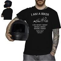 I am a biker Funny  Motorcycle Motorbike Biker Rider T-Shirt Gift him 7