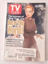 Tv Guide Magazine Star Trek Women november 8-14 1997 021517RH