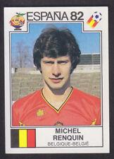 Panini - Espana 82 World Cup - # 206 Michel Renquin - Belgique