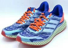 "Adidas 4D Futurecraft RUN 1.0 ""Glory Blue"" Whtie Red Mens Size 12 FW1231 NEW"