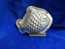 MOULE A CHOCOLAT ANCIEN / Old chocolate mold - POISSON / Fish - LETANG
