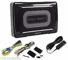 "KENWOOD KSC-SW11 150 Watt 8-1/4"" x 5-1/8"" COMPACT POWERED SUBWOOFER ENCLOSURE"
