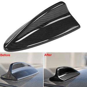For 2007-2013 BMW E90 E92 M3 E82 Real Carbon Fiber Shark Fin Antenna Cover Cap