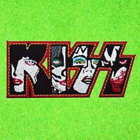 KISS Heavy Metal Rock Music Band Embroidered Patch American Iron On Hard Logo