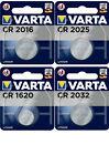 Varta Knopfzellen CR2016 CR2025 CR1620 CR2032 Batterien neuester Herstellung <br/> ✅ Deutscher Fachhändler ✉️ Blitzversand ✅ aus 2021