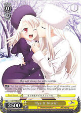 Weiss Schwarz TCG Fate / Zero Stay night Illya & Irisviel, PE05