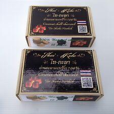15Pcs X 2 Box. Coconut Shell Charcoal Cubic 100% Hookah Shisha Home made,Bankok