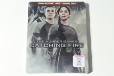 The Hunger Games: Catching Fire (Blu-ray / DVD Combo) Steelbook - Brand New