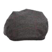 NWT STETSON Dorfman Driving Cap Hat Grey Plaid F19-BLK2