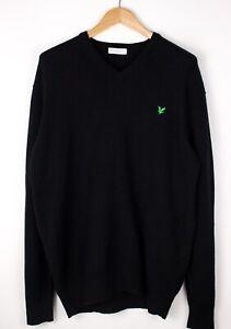Lyle & Scott Herren Wolle Pullover Sweatshirt Größe XL ASZ475