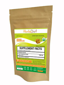 Boswellia Serrata Powder Human Equine Herb Supplement Natural Pain Relief