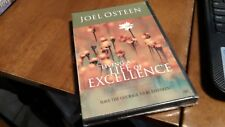 JOEL OSTEEN LIVING A LIFE OF EXCELLENCE BRAND NEW CD