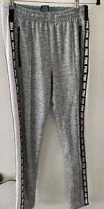 Victoria's Secret PINK Ultimate Athletic Joggers Grey/Black/White Size XS