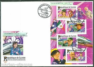GUINEA  2015 BOY SCOUT JAMBOREE JAPON 2015 SHEET FIRST DAY COVER