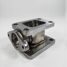 T3 to T4 Turbo Manifold Conversion Adapter+38mm External Wastegate Flange Outlet