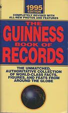 Guinness Book of World Records 1995 Edition paperback good condition