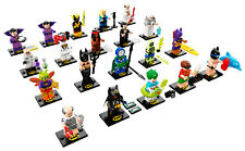 LEGO 71020 BATMAN MOVIE Serie 2 Minifigures - Komplettsatz. Alle 20 Figuren!