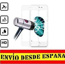 "Protector Pantalla COMPLETO BLANCO IPHONE 7 ""4.7"" Cristal Templado 0.33mm"