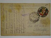 POSTA MILITARE FRANCHIGIA 22-12-1916 - 24 DIVISIONE X ROVIGO