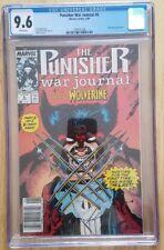 Punisher War Journal 6 Cgc 9.6 Jim Lee Wolverine
