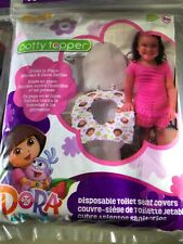 Neat Solutions Potty Topper Disposable Toilet Covers Dora Lot of 100 Daycare NEW